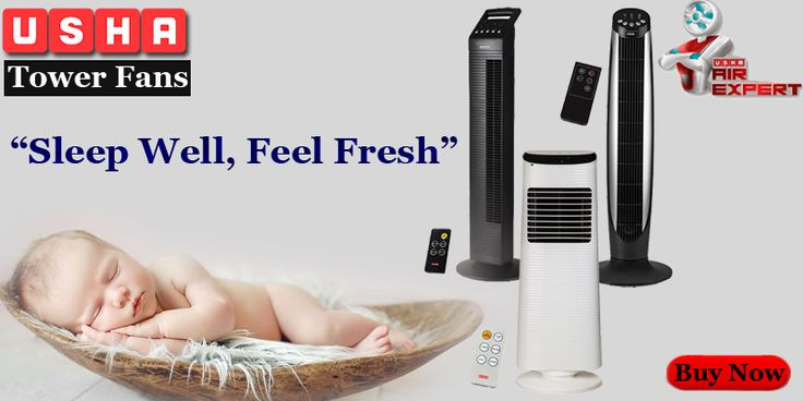 #Compacto by Usha – New Age Tower Fan with remote control, space efficient, silent operation, energy efficient, programmable timer. Grab it @ http://tinyurl.com/z4anql7