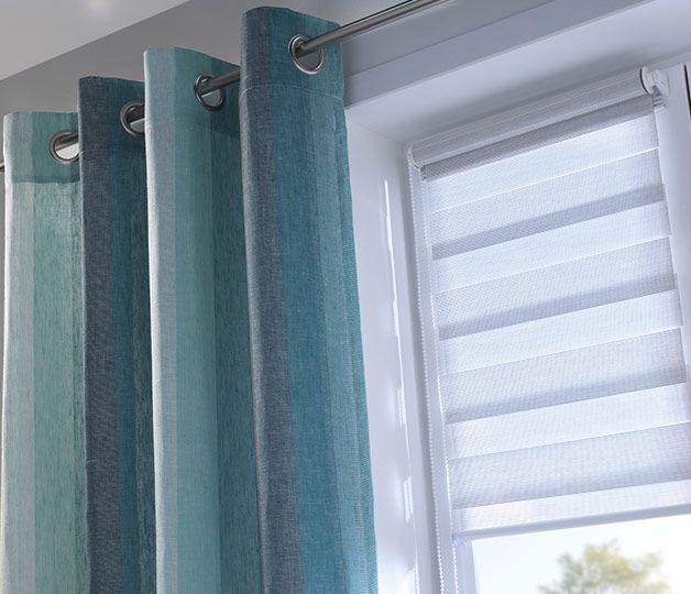 Inspirations décoration Castorama l'habillage de la fenêtre