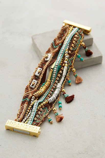 Etesian Layered Bracelet - anthropologie.com