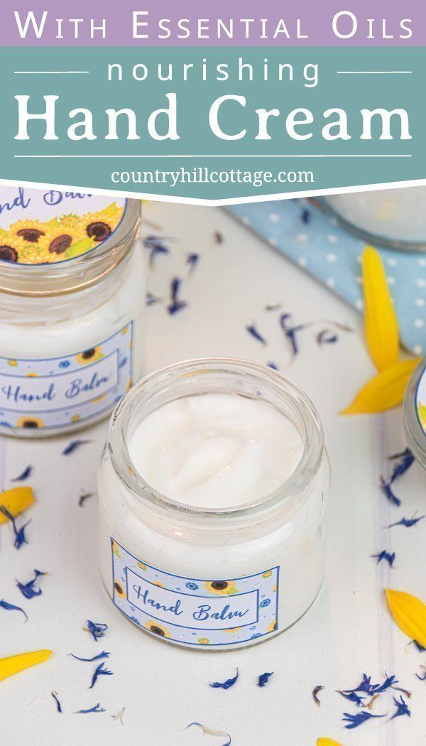 Non greasy DIY Hand Cream That Your Hands Will Love DIY