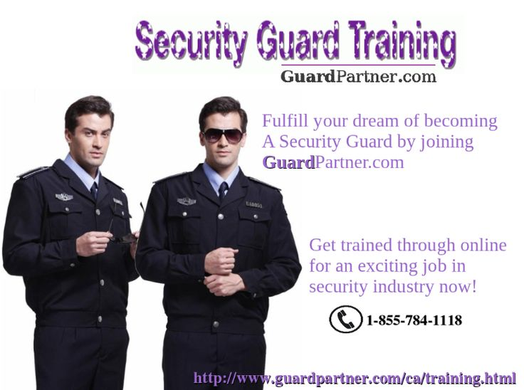 Best Online Security Guard Training Images On