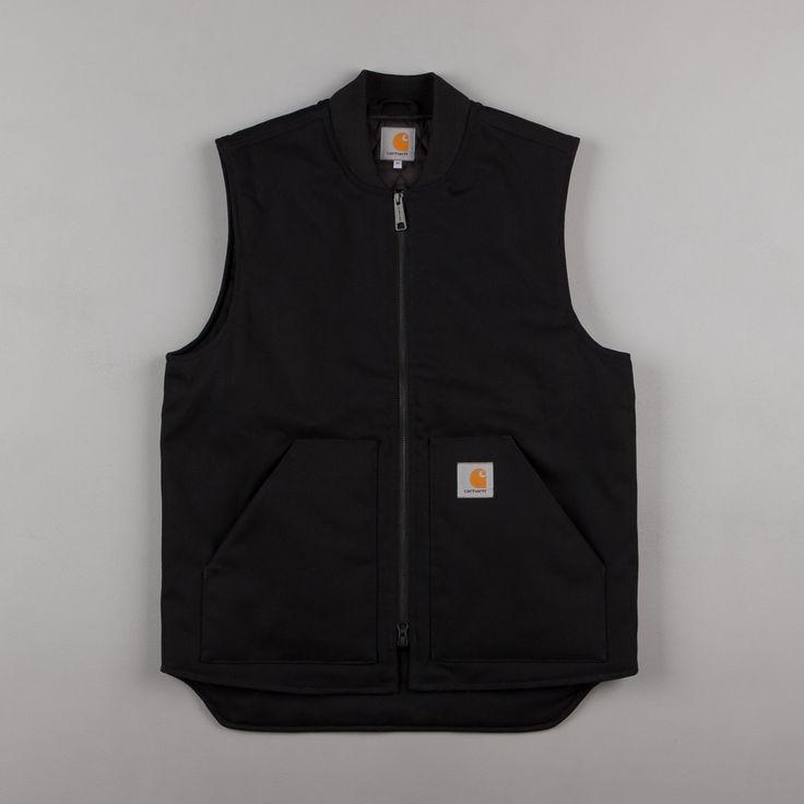 Carhartt Vest – Black Rigid Carhartt Vest – Black Rigid …