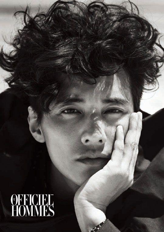 curly hair + one beautiful man.