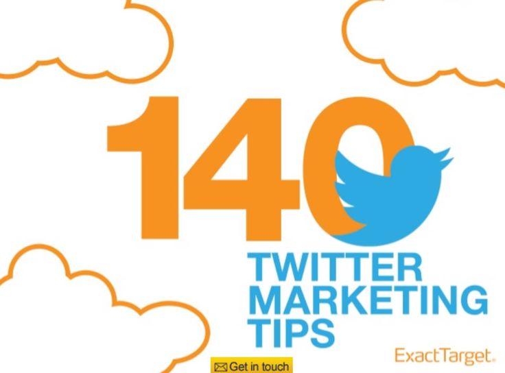 140 Twitter Marketing Tips