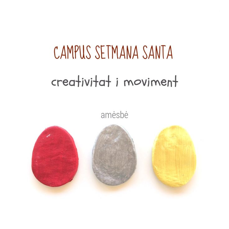 Creative campus | easter time | april 2017 | nanüts #kids #campus #casal #terrassa #easter