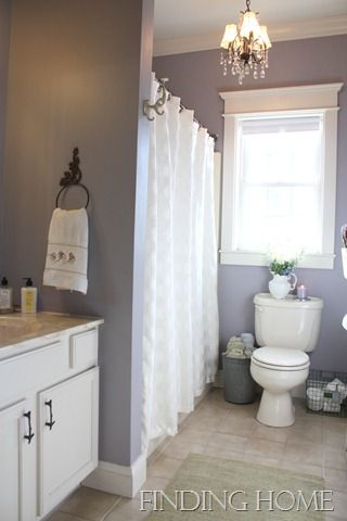 Marvelous mauve, nice guest bath remodel, oil rubbed bronze fixtures