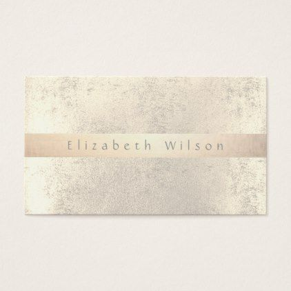 elegant girly faux gold foil business card - chic design idea diy elegant beautiful stylish modern exclusive trendy
