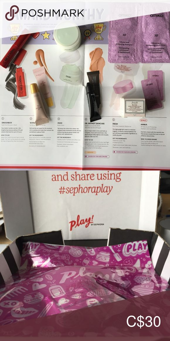 PLAY! by SEPHORA December 2019 Box in 2020 Sephora