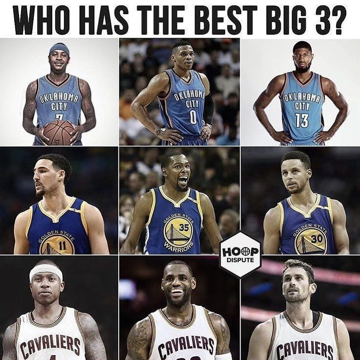 regram @hoopsnation  Your thoughts on this?  @hoopdispute  Tags: #Big3 #NBA #Cavs #Warriors #Thunder http://ift.tt/2yl1NVS