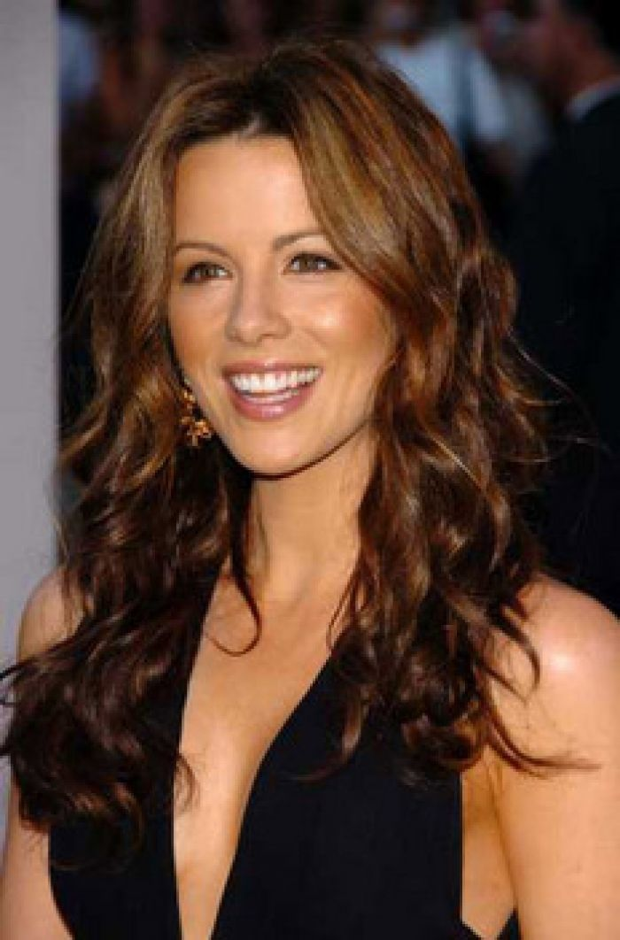 Chestnut Brown Hair Color Kate Beckinsale S Warm