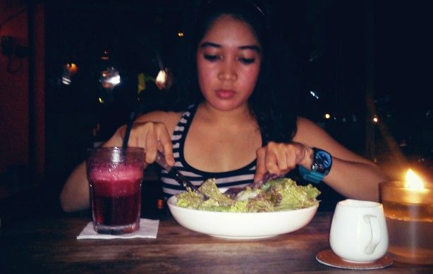 caesar salad n blueberry juice after zumba class is MUST..!!!!!
