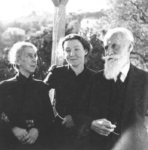 Charlotte Salomon with her Grandparents, 1940