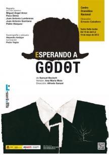 Esperando a Godot en el Teatro Valle-Inclán, 19 de mayo de 2013.