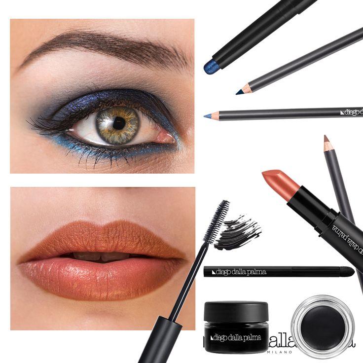 Ocean blue make up look by diego dalla palma milano #diegodallapalma #diegodallapalmamilano #makeup #eyemakeup #lips #lipstick #eyeshadow #eyes #summermakeup #motd