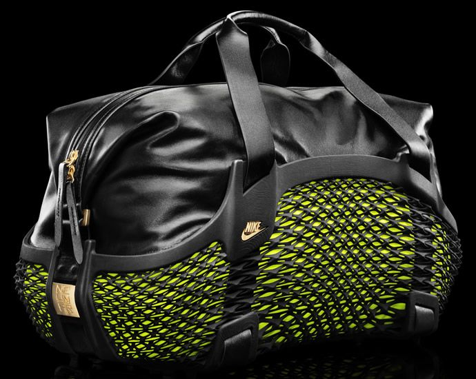 Nike Rebento Duffel a first its kind 3D printed ...