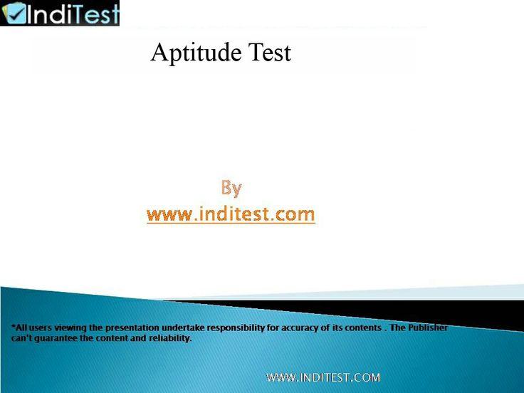 Career aptitude test free uk dating