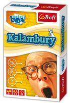 Trefl, Kalambury, wersja podróżna, gra rodzinna-Trefl
