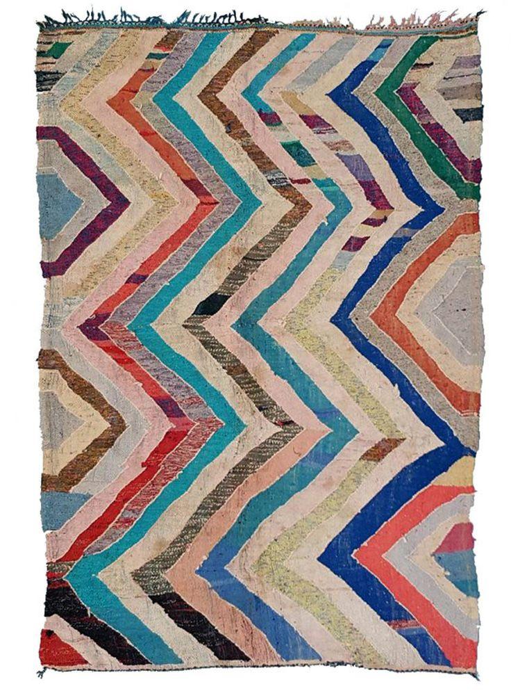 Flatweave Moroccan Boucherouite. Available online at www.marr-kett.com.au