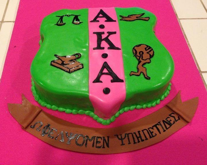 62 best Sorority Fraternity cakes images on Pinterest Alpha