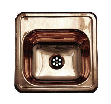 "Entertainment 15"" x 15"" Prep Square Drop in Kitchen Sink"