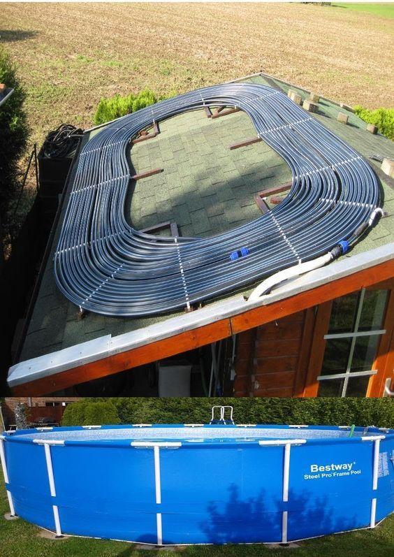 Die besten 25+ Poolheizung Ideen auf Pinterest Solar-poolheizung - anleitung pool selber bauen