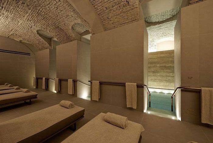 Top 25 best spa interior design ideas on pinterest spa for Wood design milano