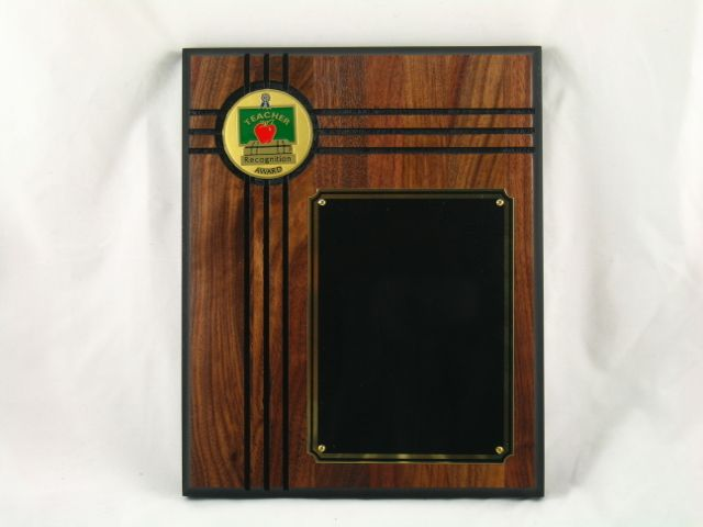 genuine walnut plaque w2 inch subject insert inserts are available in a large