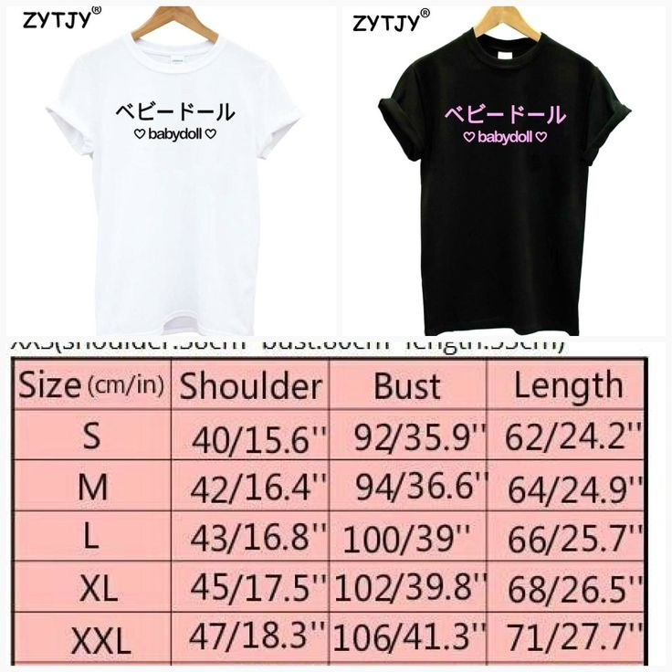 babydoll japanische rosa Buchstaben drucken Frauen Tshirt