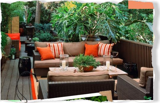 Alfresco living. Clipped from Better Homes and Gardens using Netpage.