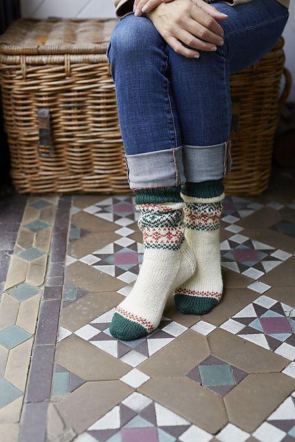Ravelry: Baffin Socks pattern by Amy Pickard
