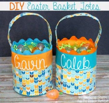46 best easter bags and baskets images on pinterest easter crafts easter basket totes free sewing project negle Choice Image