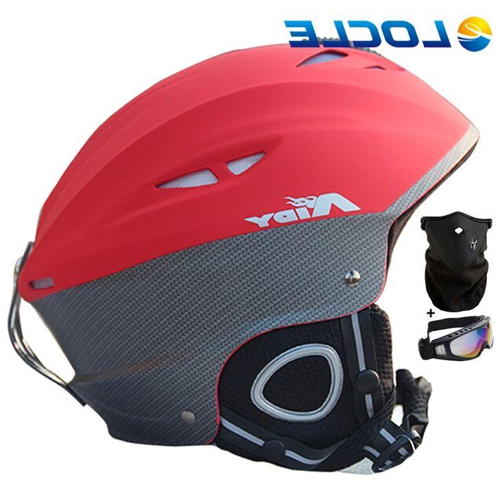 31.90$  Buy here - https://alitems.com/g/1e8d114494b01f4c715516525dc3e8/?i=5&ulp=https%3A%2F%2Fwww.aliexpress.com%2Fitem%2FUltralight-Integrally-molded-Ski-Helmet-Half-covered-Skiing-Helmet-Snowboard-Skateboard-Helmet-CE-Certification15-Air-Vents%2F32478568055.html - LOCLE Ultralight In-mold Ski Helmet Half-covered Skiing Helmet Snowboard Skateboard Helmet CE Certification 15 Air Vents 31.90$