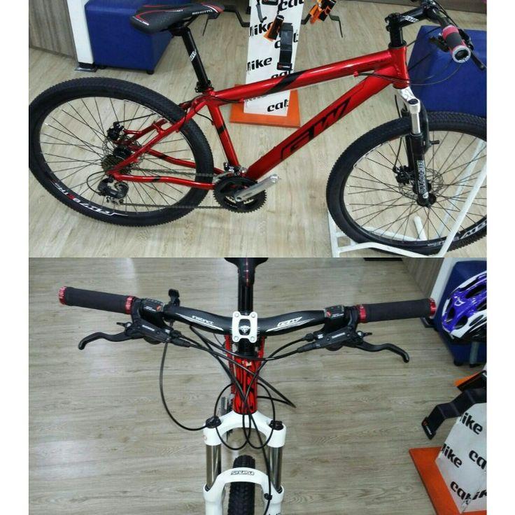 Bicicleta GW rin 27.5 con 21 velocidades manubrio caña 31.8 Con garantia de 5 años frenos de disco mecánicos cambios shimano