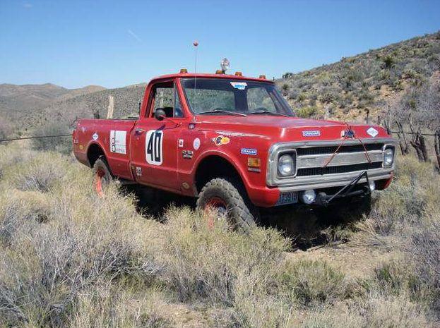 1969 Chevrolet Steve Mcqueen Baja Hickey Race Truck F239 Santa