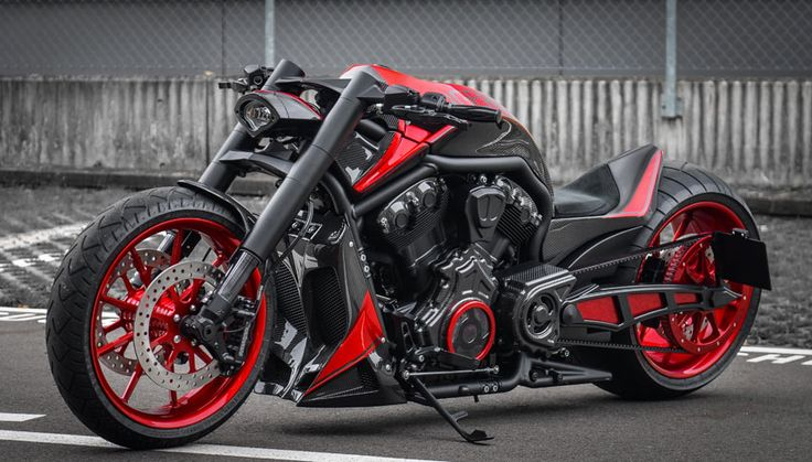 Custom Harley V Rod by No Limit Custom