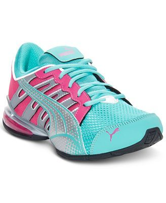 casual teal shoes for ladies | Puma Kids Shoes, Girls Voltaic 3 JR Casual…