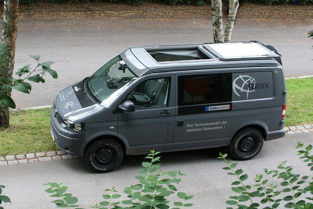 Volkswagen T5 TEROCK - a camper made of blocks