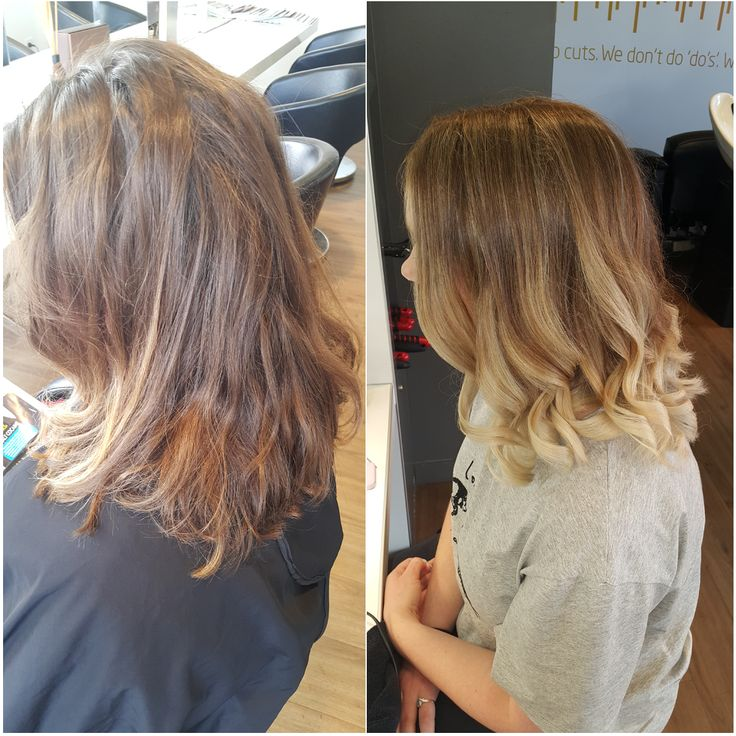 Gorgeous #ombre achieved using an ombre highlight and #balayage technique with #olaplex. Colourist: Amanda Hue Albany #Auckland