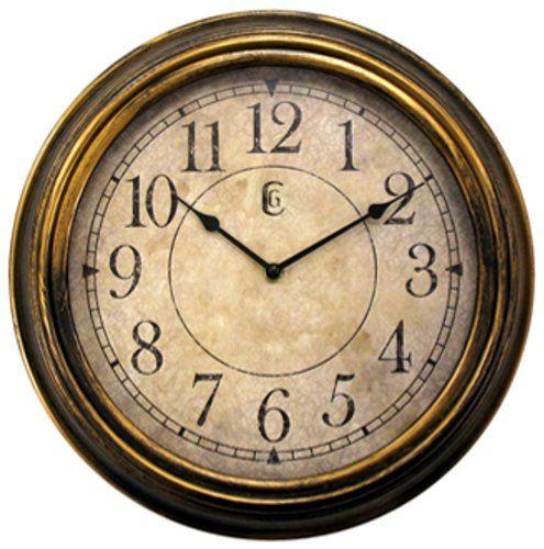 Geneva 13-1/2-Inch Antique Plastic Wall Clock,Gold Geneva http://www.amazon.com/dp/B005ME7WDC/ref=cm_sw_r_pi_dp_1M4Qtb0YBD6XX2QQ