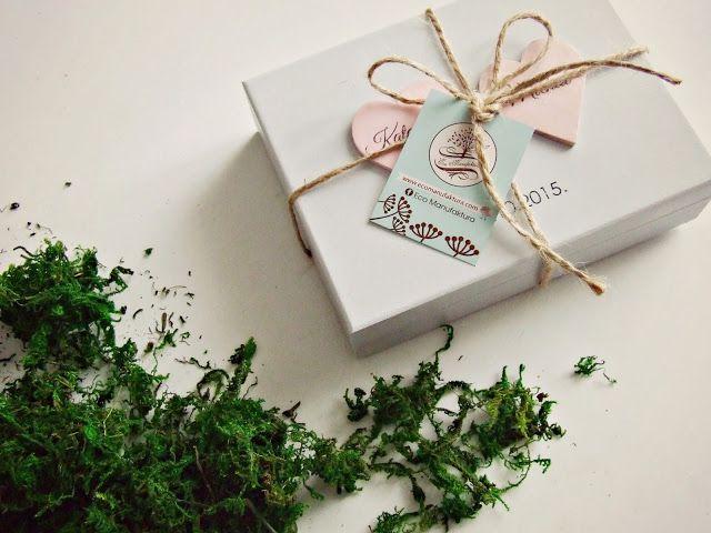 wedding ringbox (pudełeczko na obrączki Eco Manufaktura)