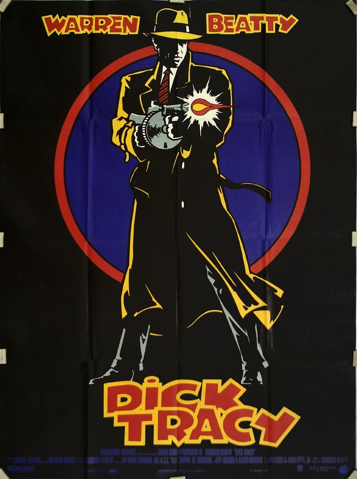 Dick Tracy (1990), starring Warren Beatty, Al Pacino, Madonna, and Dustin Hoffman.