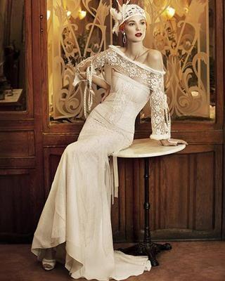 Свадебное платье в гангстерском стиле