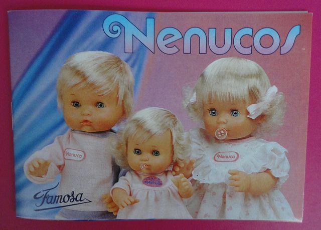 Vintage 'Nenuco' toy catalogue / Catalogo juguetes Nenuco de Famosa   by misstaito
