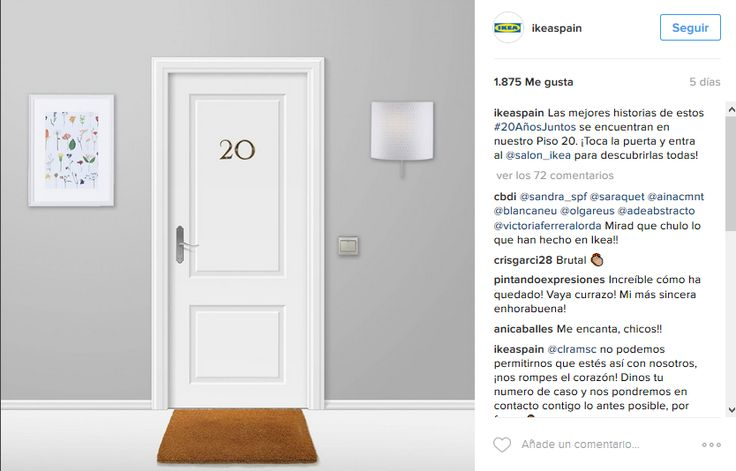 Dal salotto alla cucina, dalla cameretta al bagno, Ikea ci porta a visitare la sua casa virtuale al #piso20 di Instagram. Curiosi di entrare? Una campagna promozionale molto bella, originale e...