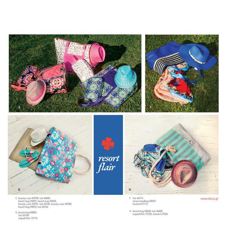Doca SS14 new collection! #Doca #collection #SS14 #beach-bags  www.doca.gr