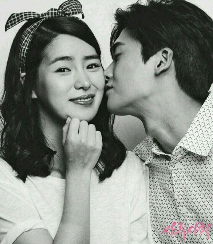 Lim Ji Yeon and Hyung Sik in the drama High Society.