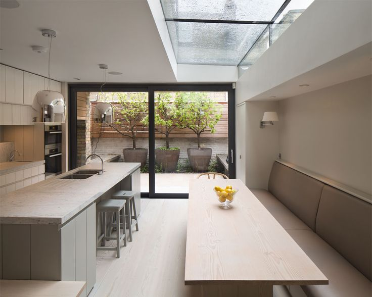 Side Return Extension with Architectural Glazing
