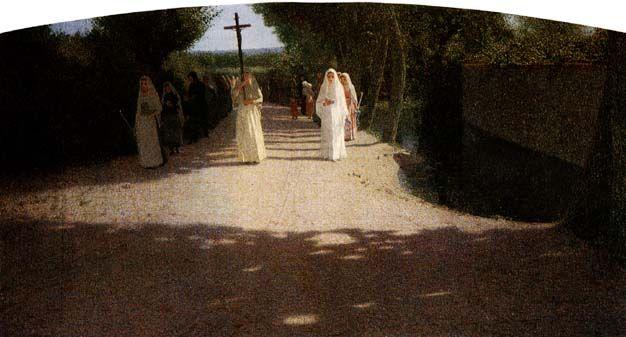 La Processione, Giuseppe Pellizza da Volpedo, 1893-95