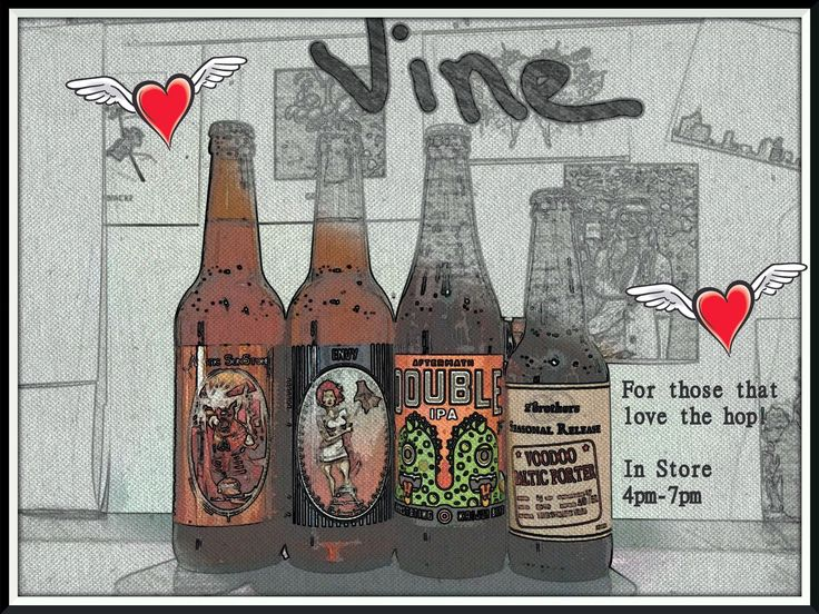"Craft Beer Tasting Saturday 9th Amager Bryghus - Sinner Series ""Envy"" West Coast IPA Amager Bryghus - Arctic Sunstone American Pale Ale Kaiju Beer - Aftermath Double IPA 2 Brothers - Voodoo Baltic Porter"