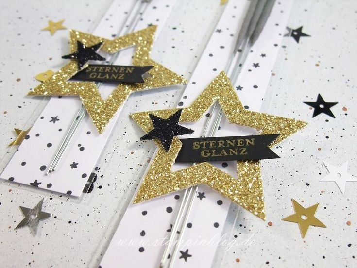 Verpackung-Silvester-Wunderkerzen-Zellophantüte-New-Year-Stern-Schwarz-Gold-Stampinblog-Stampin